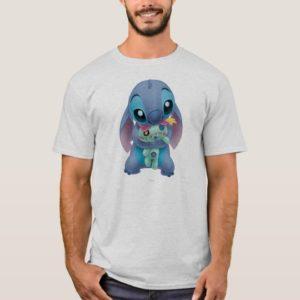 Lilo & Stitch   Stitch with Ugly Doll T-Shirt