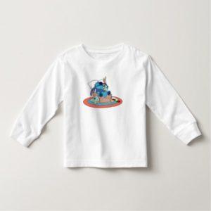 Cute Lilo & Stitch Stitch Sleeping Toddler T-shirt