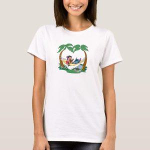 Lilo & Stitch Lilo Stitch on a hammock T-Shirt