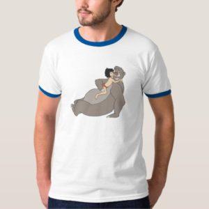 Mowgli Hugs Baloo Disney T-Shirt