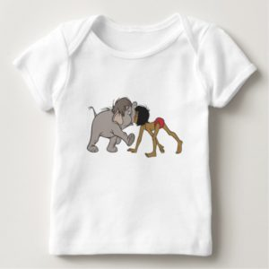 Jungle Book's Mowgli With Baby Elephant Disney Baby T-Shirt