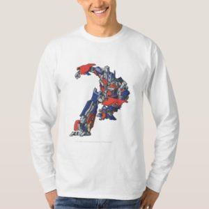 Optimus Prime Line Art 4 T-Shirt