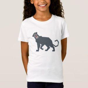 Jungle Book Bagheera black panther drawing Disney T-Shirt