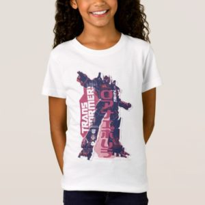 Optimus Prime Pink Badge T-Shirt