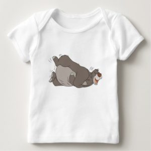 The Jungle Book Baloo laughing on the ground Baby T-Shirt
