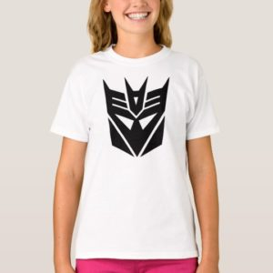 Transformers Decepticons Black Mask T-Shirt