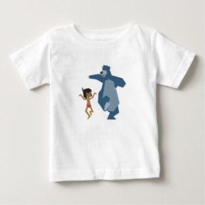 Jungle Book's Mowgli and Baloo Disney Baby T-Shirt