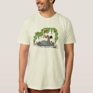 Jungle Book Baloo holding up Mowgli  Disney T-Shirt
