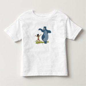 Jungle Book Mowgli and Baloo dancing Disney Toddler T-shirt