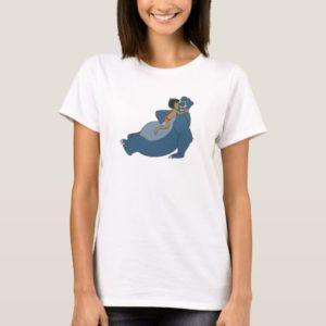 Baloo and Mowgli Playing Disney T-Shirt