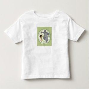 "Jungle Book Mowgli & Baloo ""Just Us Bears"" Disney Toddler T-shirt"