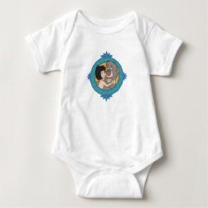 Baloo and Mowgli in a Frame Disney Baby Bodysuit