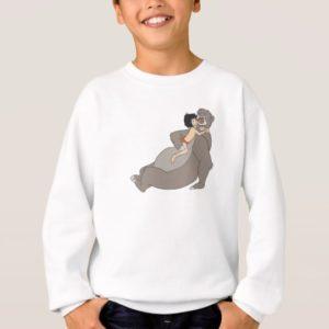 Mowgli Hugs Baloo Disney Sweatshirt
