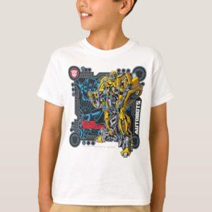 Bumblebee TF3 Badge Circuitry T-Shirt