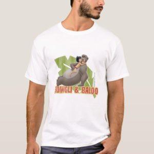 Jungle Book's Mowgli and Baloo Hugging Disney T-Shirt