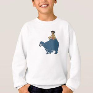 Jungle Book Mowgli Baloo Disney Sweatshirt