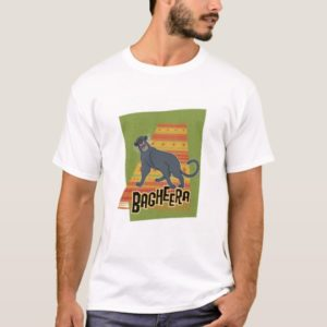 Bagheera With Name and Art Disney T-Shirt