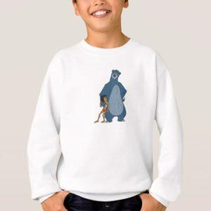 Jungle Book Baloo and Mowgli standing Disney Sweatshirt