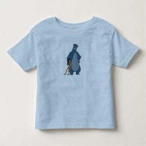 Jungle Book Baloo and Mowgli standing Disney Toddler T-shirt