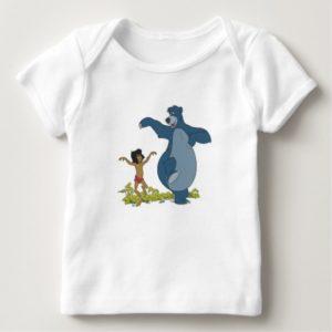 Jungle Book Mowgli and Baloo dancing Disney Baby T-Shirt