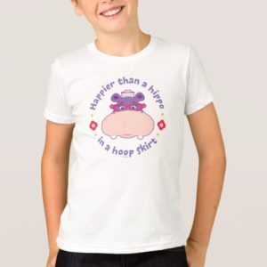 Hallie -Happier Than a Hippo in a Hoop Skirt T-Shirt