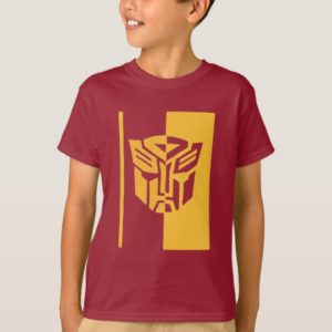 Transformers Autobots split shield gold T-Shirt