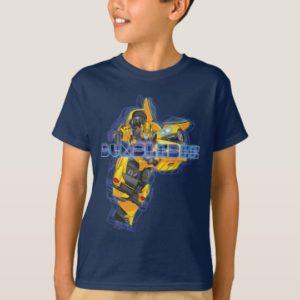 Transformers | Bumblebee Neon Lights Badge T-Shirt