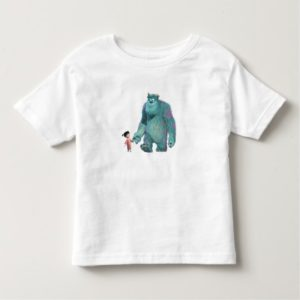 Monsters Inc. Boo And Sulley walking Toddler T-shirt