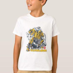 Bumblebee TF3 Badge Distressed T-Shirt