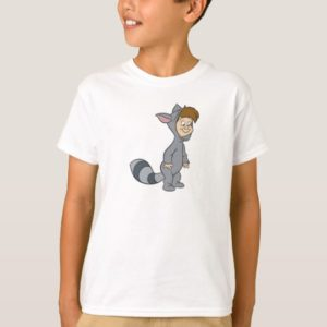 Peter Pan's Lost Boys Raccoon Disney T-Shirt