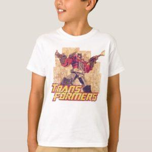 Transformers   Optimus Prime - Comic Book Sketch T-Shirt