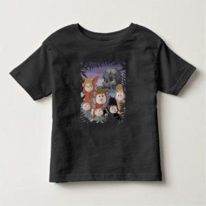 Peter Pan's Lost Boys At Skull Rock Toddler T-shirt