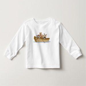 Peter Pan's Lost Boys in boat Disney Toddler T-shirt