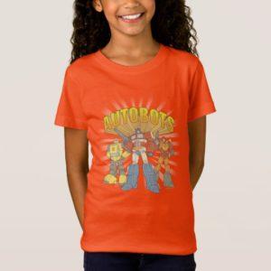Transformers | Retro Autobots Group Graphic T-Shirt