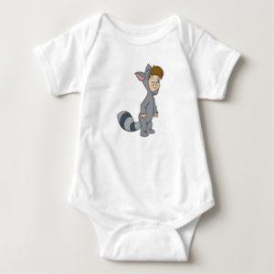 Peter Pan's Lost Boys Raccoon Disney Baby Bodysuit