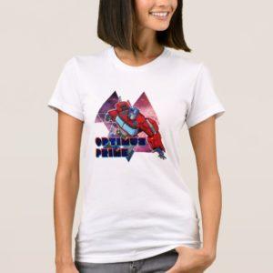 Transformers   Optimus Prime Geometric Space Badge T-Shirt