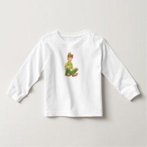 Peter Pan Sitting Down Disney Toddler T-shirt