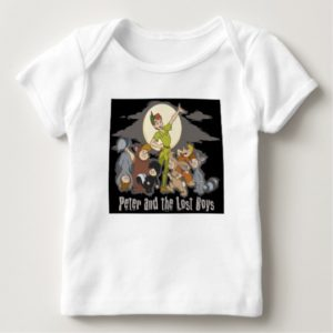 Peter Pan Peter Pan and the Lost Boys Disney Baby T-Shirt