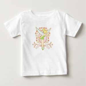 Tinker Bell Floral Frame Disney Baby T-Shirt