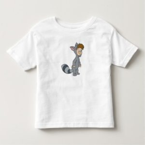 Peter Pan's Lost Boys Raccoon Disney Toddler T-shirt