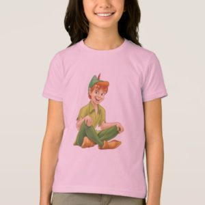 Peter Pan Sitting Down Disney T-Shirt