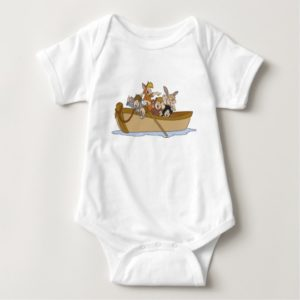 Peter Pan's Lost Boys in boat Disney Baby Bodysuit