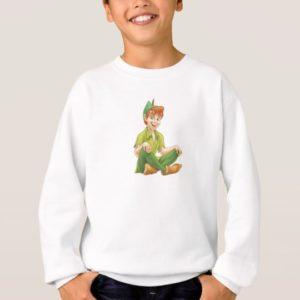 Peter Pan Sitting Down Disney Sweatshirt