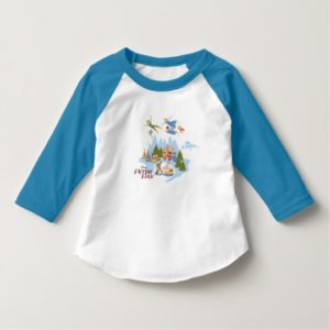 Peter Pan Flying over Neverland T-Shirt