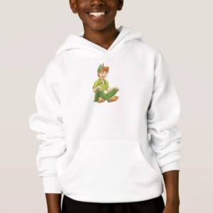Peter Pan Sitting Down Disney Hoodie