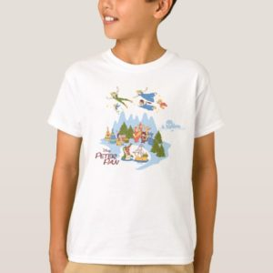 Peter Pan Flying over Neverland T-Shirt