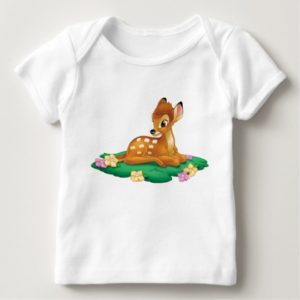 Bambi sitting on the grass baby T-Shirt