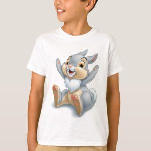 Bambi's Thumper Throwing Hands Up T-Shirt