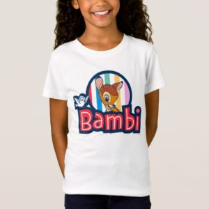 Bambi Striped Badge T-Shirt