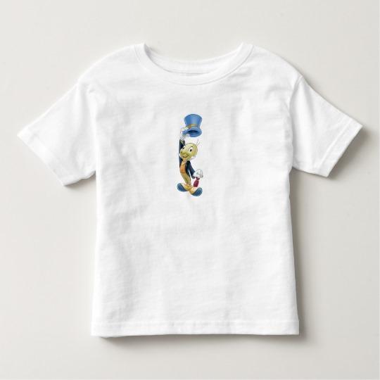 Jiminy Cricket Lifting His Hat Disney Toddler T-shirt